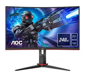 "Monitor Curvo AOC C32G2ZE/BK VA 31.5"" FHD 16:9 240Hz FreeSync"