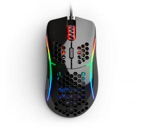 Rato Óptico Glorious PC Gaming Race Model D- 12000DPI Preto Glossy