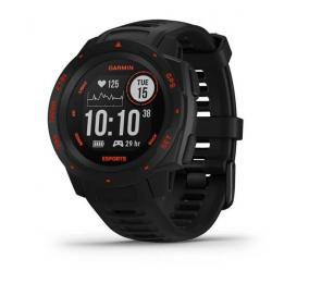 Smartwatch Garmin Instinct Edição Esports Preto Lava