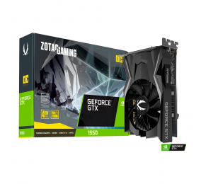 Placa Gráfica Zotac GeForce GTX 1650 Gaming 4GB OC