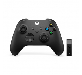Gamepad Microsoft Xbox Wireless + Adaptador para Windows