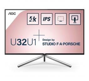 "Monitor AOC Porsche U32U1 IPS 31.5"" 4K UHD 16:9 60Hz"