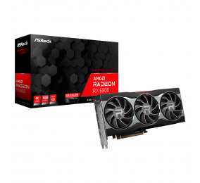 Placa Gráfica ASRock Radeon RX 6800 16GB GDDR6