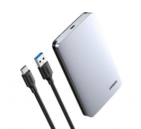 """Caixa Externa 2.5"""" UGREEN CM300 70498 SATA I/II/III a USB 3.1 Gen2 com UASP"""