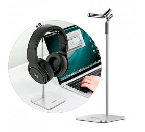 Suporte Headset UGREEN LP143 Metal Desktop Stand Cinza
