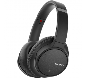 Headphones Sony WH-CH700N Wireless Noise Cancelling Pretos