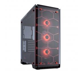 Caixa ATX Corsair Crystal 570X RGB Vermelha