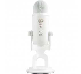 Microfone Blue Yeti USB White Out