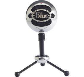 Microfone Blue Snowball USB Brushed Aluminium