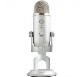 Microfone Blue Yeti USB Silver