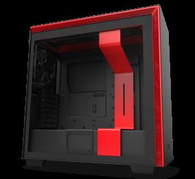 Caixa Extended-ATX NZXT H710i Preta/Vermelha