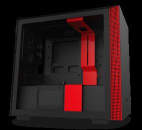 Caixa Mini-ITX NZXT H210i Preta/Vermelha