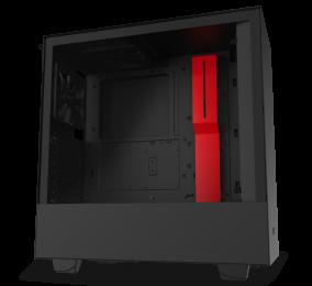 Caixa ATX NZXT H510 Preta/Vermelha