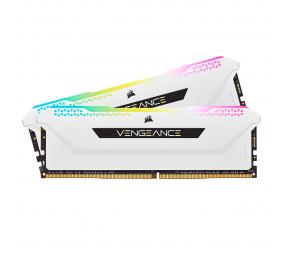 Memória RAM Corsair Vengeance RGB Pro SL 32GB (2x16GB) DDR4-3200MHz CL16 Branca
