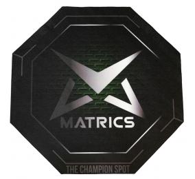 Tapete de Cadeira Matrics Gaming Glide Verde