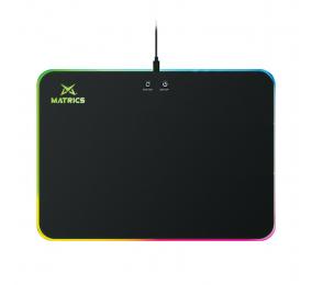 Tapete Matrics MPW35 RGB Preto c/ Wireless Charger