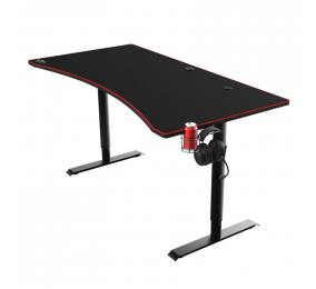 Secretária Gaming Trust GXT 1190 Magnicus Gaming Desk com Wireless Charging