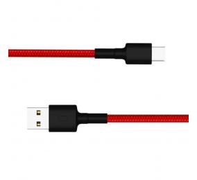 Cabo Xiaomi Mi Braided USB Type-C 1m Vermelho