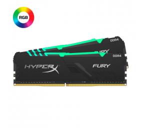 Memória RAM HyperX Fury DDR4 RGB 16GB (2x8GB) DDR4-3200MHz CL16 Preta