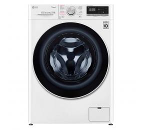 Máquina de Lavar Roupa LG F4WT409PTE 9kg 1400RPM D Branca
