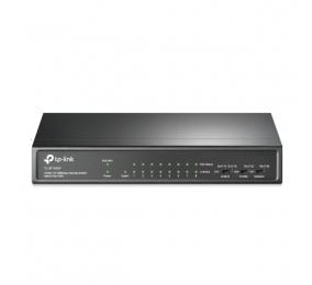 Switch TP-Link TL-SF1009P 9-Portas 10/100Mbps Desktop Switch c/ 8-Portas PoE+