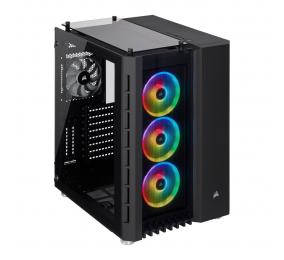 Caixa Extended-ATX Corsair Crystal 680X RGB Preta com Vidro Temperado