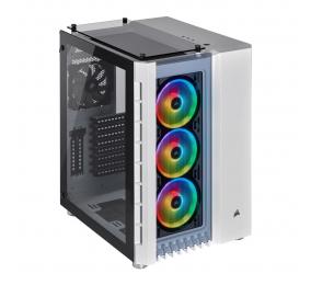 Caixa Extended-ATX Corsair Crystal 680X RGB Branca com Vidro Temperado