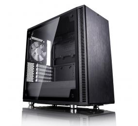 Caixa Micro-ATX Fractal Design Define Mini C TG Preta