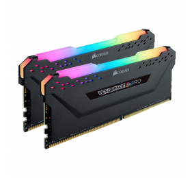 Memória RAM Corsair Vengeance RGB Pro 32GB (2x16GB) DDR4-3200MHz CL15 Preta