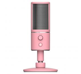 Microfone Razer Seiren X Condenser Streaming Quartz
