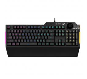 Teclado Asus TUF Gaming K1 RGB PT Preto
