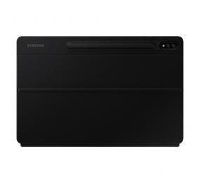 Capa Teclado Samsung Galaxy Tab S7+ Book Cover Preta