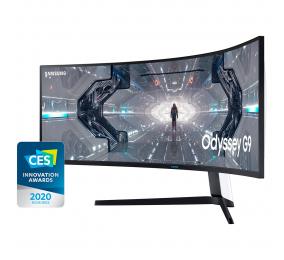 """Monitor Curvo Samsung Odyssey G9 QLED VA 49"""" Dual QHD 32:9 240Hz FreeSync / G-SYNC Compatible"""