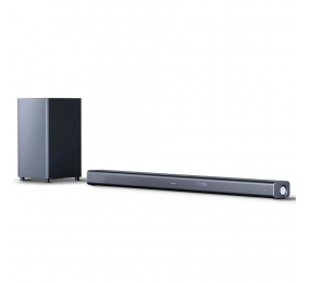 Soundbar Sharp HT-SBW800 5.1.2 Wireless Dolby Atmos 570W Bluetooth Preta