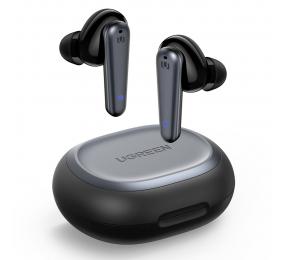 Earbuds UGREEN HiTune T1 Bluetooth 5.0 Wireless Pretos