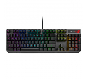 Teclado Mecânico Asus ROG Strix Scope RGB PT RX Red