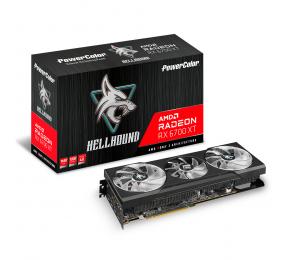 Placa Gráfica Powercolor HellHound Radeon RX 6700 XT 12GB GDDR6