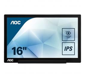 """Monitor Portátil AOC I1601FWUX IPS 15.6"""" FHD 16:9 60Hz"""