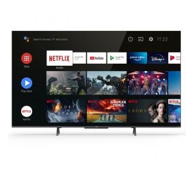 "Televisão TCL C72 50C725 SmartTV 50"" QLED 4K UHD Android TV"