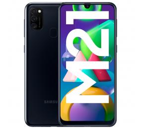 "Smartphone Samsung Galaxy M21 6.4"" 4GB/64GB Dual SIM Preto"