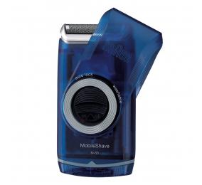 Máquina de Barbear de Viagem Braun MobileShave M-60 Azul