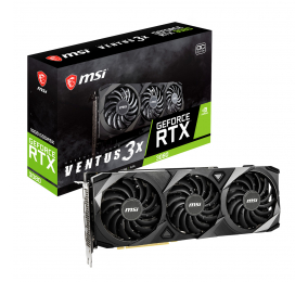 Placa Gráfica MSI GeForce RTX 3080 Ventus 3X 10G OC