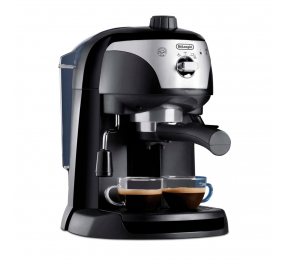 Máquina de Café Expresso DeLonghi EC 221.B 1100W 15 Bar Preta
