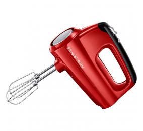 Batedeira Russell Hobbs Desire Hand Mixer 350W Vermelha