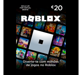 Roblox Gift Card 20€ POSA PT