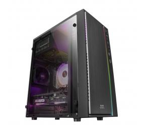 Caixa Micro-ATX Mars Gaming MCM RGB Preta
