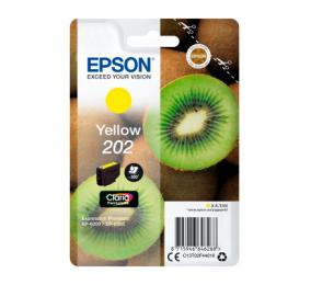 Tinteiro Epson Original Singlepack Yellow 202 Claria Premium Ink