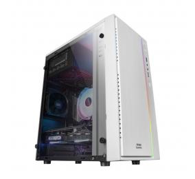 Caixa Micro-ATX Mars Gaming MCM RGB Branca