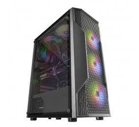 Caixa ATX Mars Gaming MCA Gaming RGB Preta