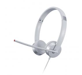 Headset Lenovo 100 Stereo Analog Branco